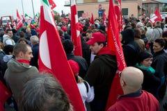 Grève avec l'événement Photos libres de droits