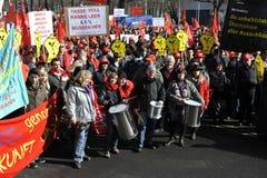 Grève d'avertissement Photos stock