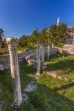 Grécia antigo, ilha de Kos, ágora antiga (mercado) Imagem de Stock Royalty Free