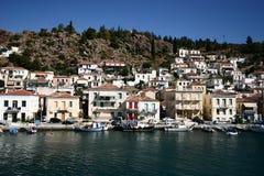 Grécia, cidade do Hydra Fotografia de Stock