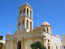 Grécia, Creta, monastério de Odigitria Gonia fotografia de stock royalty free