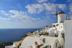 Grécia, Santorini, Oia Imagens de Stock