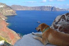 Grécia, Santorini, Oia Fotografia de Stock Royalty Free
