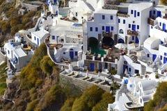Grécia, Santorini, Oia Fotos de Stock
