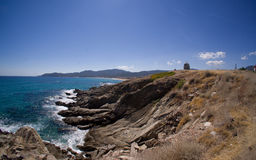 Grécia - Sarti Foto de Stock Royalty Free