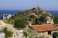 Grécia, Skiathos Fotos de Stock Royalty Free