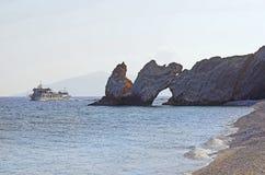 Grécia, Skiathos fotografia de stock
