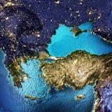 Grécia, Turquia Fotografia de Stock Royalty Free