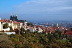Grêle de Prague Photographie stock libre de droits