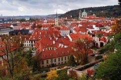 Grêle de Prague Photo stock