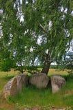 grób gigantyczny kamień fotografia royalty free