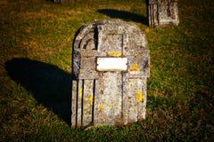 grób kamień zdjęcia stock