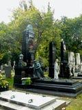 Grób na Zentralfriedhof Wiedeń Zdjęcie Stock
