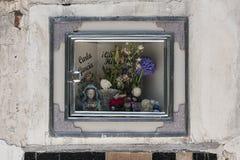 Grób przy Cementerio Miejskim cmentarzem w Sucre, Boliwia Zdjęcia Stock