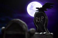 Grób w Halloween Obrazy Royalty Free