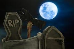 Grób w Halloween Fotografia Stock