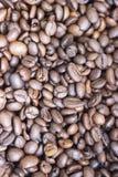Grões de café Imagens de Stock
