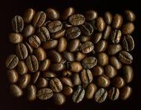 Grões de Coffe Foto de Stock
