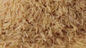 Grões lisas crus do arroz filme