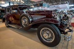 Größengleichluxusauto Duesenberg-Modell J La Grande, 1929 Lizenzfreies Stockbild