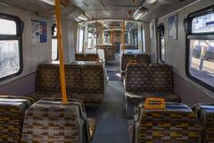 Größerer Zug Anglia London Overground stockbild