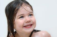 Größtes Lächeln für Bad-Zeit lizenzfreie stockfotografie