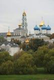Größtes russisches Kloster Lizenzfreie Stockfotos