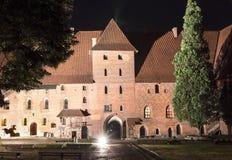 Größtes Schloss in Europa Malbork in Polen Lizenzfreie Stockfotos