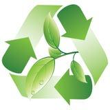 grön återanvändning Arkivbilder