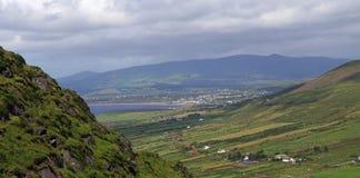 Grön ö Irland Arkivfoto