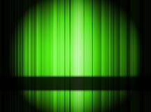 Grön abstrakt bakgrund. Stock Illustrationer