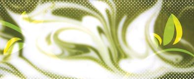 Grön abstrakt bakgrund Royaltyfria Bilder