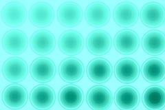 Grön abstrakt bakgrund, cirklar som är sömlösa Royaltyfri Fotografi