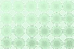 Grön abstrakt bakgrund, cirklar som är sömlösa Royaltyfri Foto