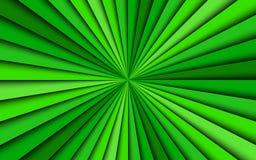 Grön abstrakt bakgrund, fyra skuggor av gröna linjer, ljus modell royaltyfria foton