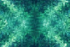 Grön abstrakt glass texturbakgrund eller modell, designmall Arkivbilder