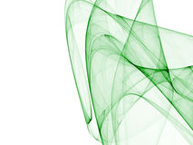 Grön abstrakt sammansättning royaltyfri illustrationer