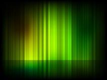 Grön abstrakt skinande bakgrund EPS 8 Royaltyfri Fotografi