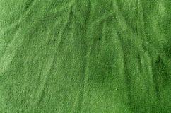 Grön abstrakt textiltextur Royaltyfri Bild