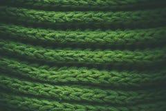 Grön abstrakt textur och bakgrund Gräsplan stucken textur och bakgrund för formgivare Makrosikt av stack fibrer Arkivbilder