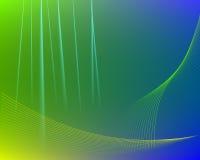 Grön abstrakt torkduketexturbakgrund. Royaltyfria Bilder
