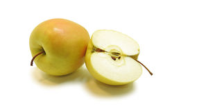 Grön Apple sammansättning Royaltyfria Bilder