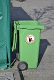 grön avfalls arkivbilder