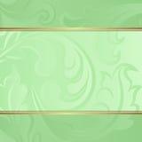 Grön bakgrund Royaltyfria Bilder