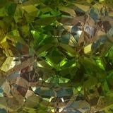 Grön bakgrund av smyckengemstonen Royaltyfria Bilder