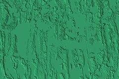 Grön bakgrund för cementväggabstrakt begrepp Royaltyfri Bild