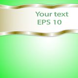 Grön bakgrund för diagram för text och meddelande Arkivfoto