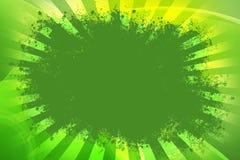 Grön bakgrund för Grunge Arkivbilder