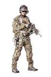 Grön basker för USA-armé Fotografering för Bildbyråer