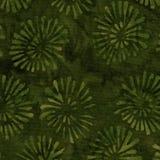Grön Batikmodell Royaltyfri Foto